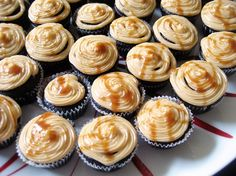 TGIF FTW / / Fiscally Chic / / Stone Smoked Porter Cupcakes with Salted Caramel Cream Cheese Frosting WHAT?