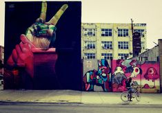Bushwick in Brooklyn New York – the place to be for street art!