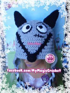 Frankenweenie Crochet Hat https://www.etsy.com/your/shops/MyMagicCrochetUS