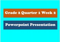 Grade 2 PPT Q1 Week 2 Math 2, 2nd Grade Math, Visual Learning, Learning Games, Grade 2 English, Online Quizzes, Television Program, Teaching Strategies, Educational Videos