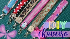 DIY | Chaveiro de tecido - Bia Feltz