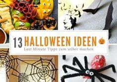 Einfache DIY Ideen für Halloween zum selber machen