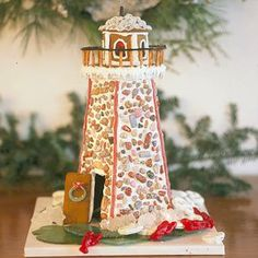 A Gingerbread Lighthouse