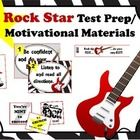 This set includes the following (25 pages):  -16 testing tip posters (8 with red chevron background/8 black line master) -VIP motivational test pas...