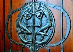 Charles Rennie Mackintosh furniture (detail) from The Mackintosh Room   Glasgow School of Art