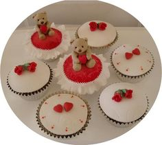 Teddybear cupcakes by jahfa2009, via Flickr