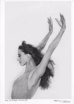 Несравненная Майя: редкие фото великой балерины и музы великих модельеров - Ярмарка Мастеров - ручная работа, handmade
