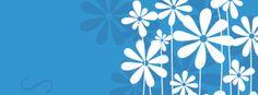 Blue Facebook cover