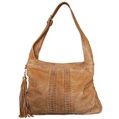 Sarita Leather Shoulder Bag (Camel) – ilovehandbags.com.au