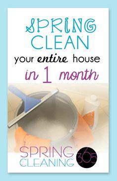primavera casa limpia lista de verificación