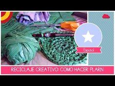 Reutiliza bolsas de plástico tejiendo ✨ - YouTube