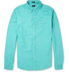 J.Crew - Button-Down Collar Cotton Oxford Shirt|MR PORTER
