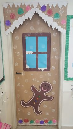 Christmas Classroom Door More