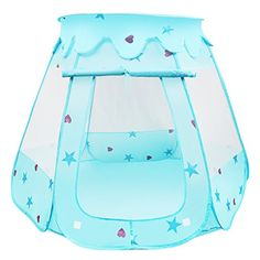 33ad0f8df95d BelleStyle Kids Play Tent, Pop Up Princess Children Ball Pit Pool Tent  House for Kids Indoor and Outdoor Use