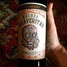 Celebrating la Pascua with our Calaveritas Malbec! #easter #austin #wine #malbec #pascua
