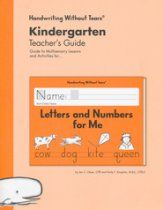 Letters and Numbers for Me Teacher's Guide, Grade K, Updated Edition