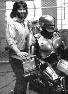 Oscar winning practical effects master Rob Bottin designed and built the original iconic Robocop suit.