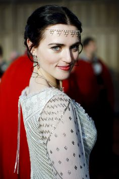 Katie as Morgana. She needs to stop being so gorgeous!!!