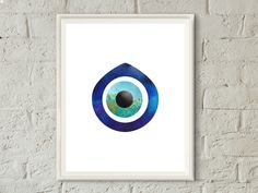 evil eye wall decor,evil eye wall art,evil eye print,bohemian decor,spiritual art,watercolor evil eye print,good luck charm,Turkish evil eye,printable on etsy,SweetSoulprintables on Etsy,diy home decor,home accessories,home improvements,Etsy shop,small space decor,apartments,diy crafts,room decor,new home gifts