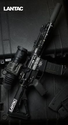 Lantac USA manufactures the highest quality accessories for and type rifles. Rifles, Muzzle Brakes & more. Military Weapons, Weapons Guns, Guns And Ammo, Ar15, Ps Wallpaper, Rifles, Military Pictures, Cool Guns, Assault Rifle