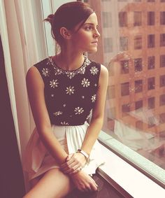 Emma Watson; Portrait at the 2012 Toronto Film Festival; Sunday, September 9, 2012; GORGEOUS!