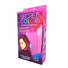 ASN  - Africa Shopping Network Secret Color Extensions product box