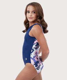 The winter is long and cold, but at the end there are always flowers that. Gymnastics Wear, Girls Gymnastics Leotards, Gymnastics Outfits, Dance Leotards, Gymnastics Things, Acro Dance, Kids Swimwear, Swimsuits, Ganesh