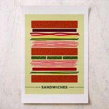 Bklyn Larder Sandwiches Poster