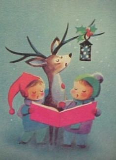 If this is not the cutest Christmas card around, I don't know what is.