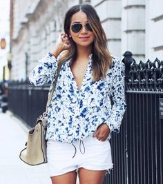 We're Totally Copying Sincerely Jules' French Connection Blouse