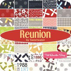 Reunion Yardage  Sweetwater for Moda Fabrics