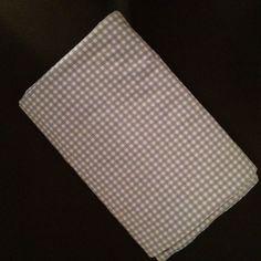 King Flat Sheet Blue White Check By Martha Stewart #MarthaStewart