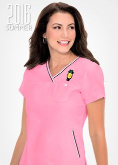 113 Ashley Sporty Pullover: 16 (Pink/Pineapple)