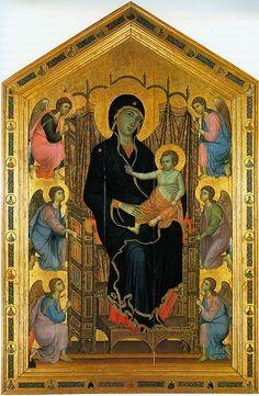 Madonna Rucellai-Duccio di Buoninsegna