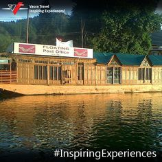 "One of the most unique post offices in the #world is the ""Floating Post Office"" on Dal Lake in Srinagar, #Jammu& #Kashmir."