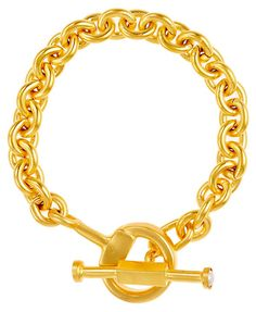 Mother of Pearl Toggle on Link Bracelet | American Classics | One Kings Lane