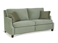 Another reclining sofa that does not look like and overstuffed reclining sofa - Bartlett Home Furnishings, MotionCraft