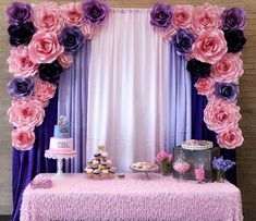 So honored to be apart of this special day! 🎀 By: Uplifting Surprise Stage Decorations, Balloon Decorations, Birthday Party Decorations, Flower Decorations, Birthday Parties, Wedding Decorations, Happy Birthday, Big Paper Flowers, Paper Flower Decor