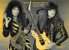 Stryper - Michael Sweet & Oz Fox