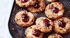 Thumbprints are the best because you can fill them with just about any spread — jam, peanut butter, chocolate, and did someone say Nutella?  Get the recipe for Jammy Thumbprints »  - GoodHousekeeping.com