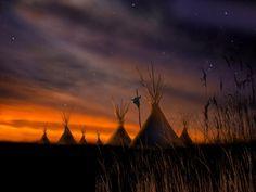 Sundown on the prairie... I can almost hear the geese.