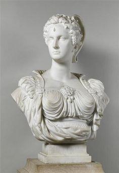 Marcello (born Adèle d´Affry) (1836-1879) | Buste de Bianca Capello