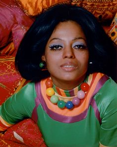 Diana Ross. Psychedelic. Man. Groovy.