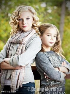 Paige Hyland and Mackenzie Ziegler of Dance Moms love this photo beautiful photography