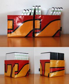Products from waste: NottyPooch's recycled billboard banner wallets & more - Core77