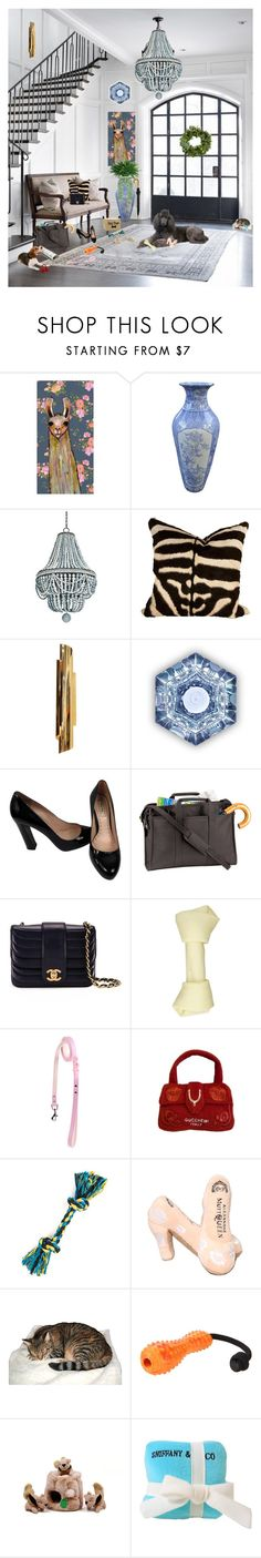 """""""A Welcoming Entryway (set 2)"""" by deborah-518 ❤ liked on Polyvore featuring interior, interiors, interior design, home, home decor, interior decorating, Tom Dixon, Miu Miu, Royce Leather and Chanel"""