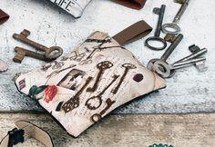 Schlüssel-Etui stylisch im Vintage-Look #Taschen von Hoff Interieur http://paulineshouse.com/taschen-blossom-odin-shopping/#more-5002