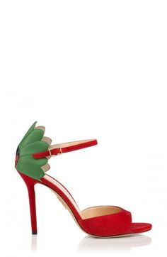 7bf6fc2e0a34 These are women s ladybug sandals from Charlotte Olympia