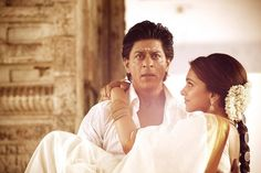Deepika Padukone and Shahrukh Khan in 'Chennai Express'