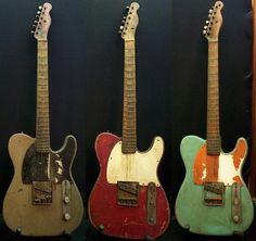Las Fender, cuanto mas antiguas parezcan, mejor! <<Vintage Fender…